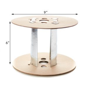 6 Inch Metal Insert With 9 Inch Flange Spool