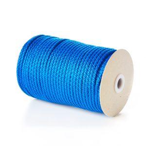 907 Royal Blue Knitted Cord Polypropylene