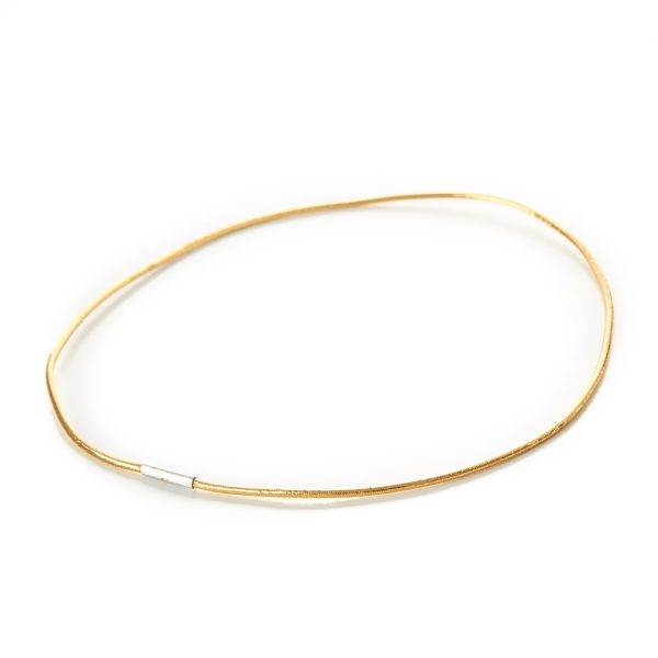 Decorative Menu Loop Lurex Round Elastic Gold Metal Tag Gift