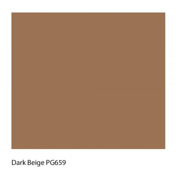 Dark Beige PG659 Polyester Yarn Shade Colour