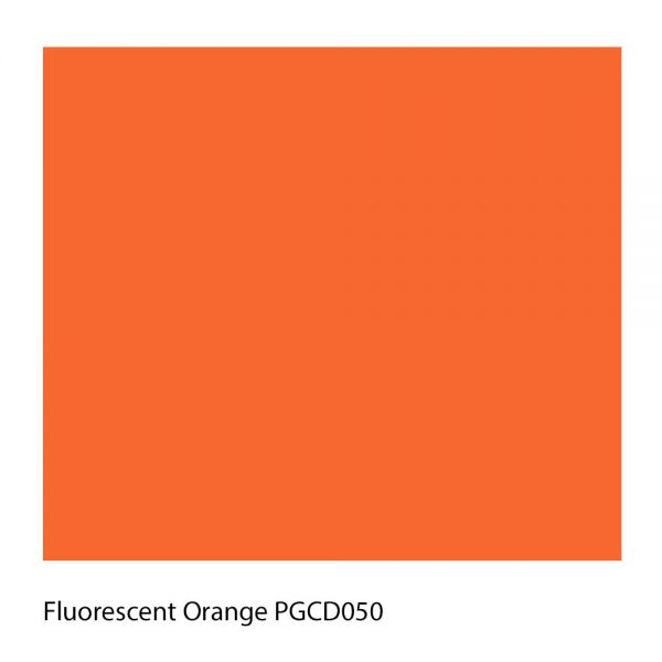 Fluorescent Orange PGCD050 Polyester Yarn Shade Colour