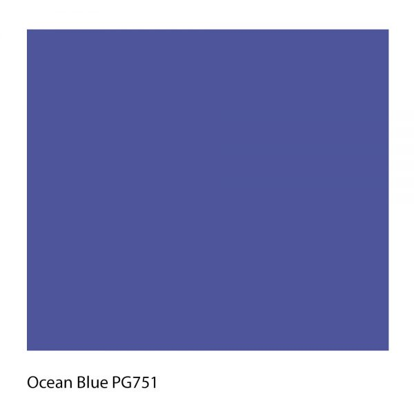 Ocean Blue PG751 Polyester Yarn Shade Colour