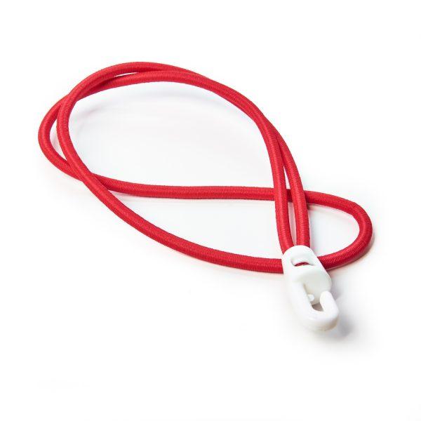 Plastic Hook Ties Bungee Cord Shock Cord Red Elastic