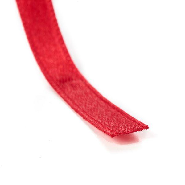 Ribbon Heat Cut Lengths Sealed Red