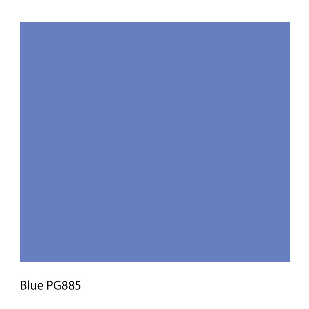 Blue PG885 Polyester Yarn Shade Colour