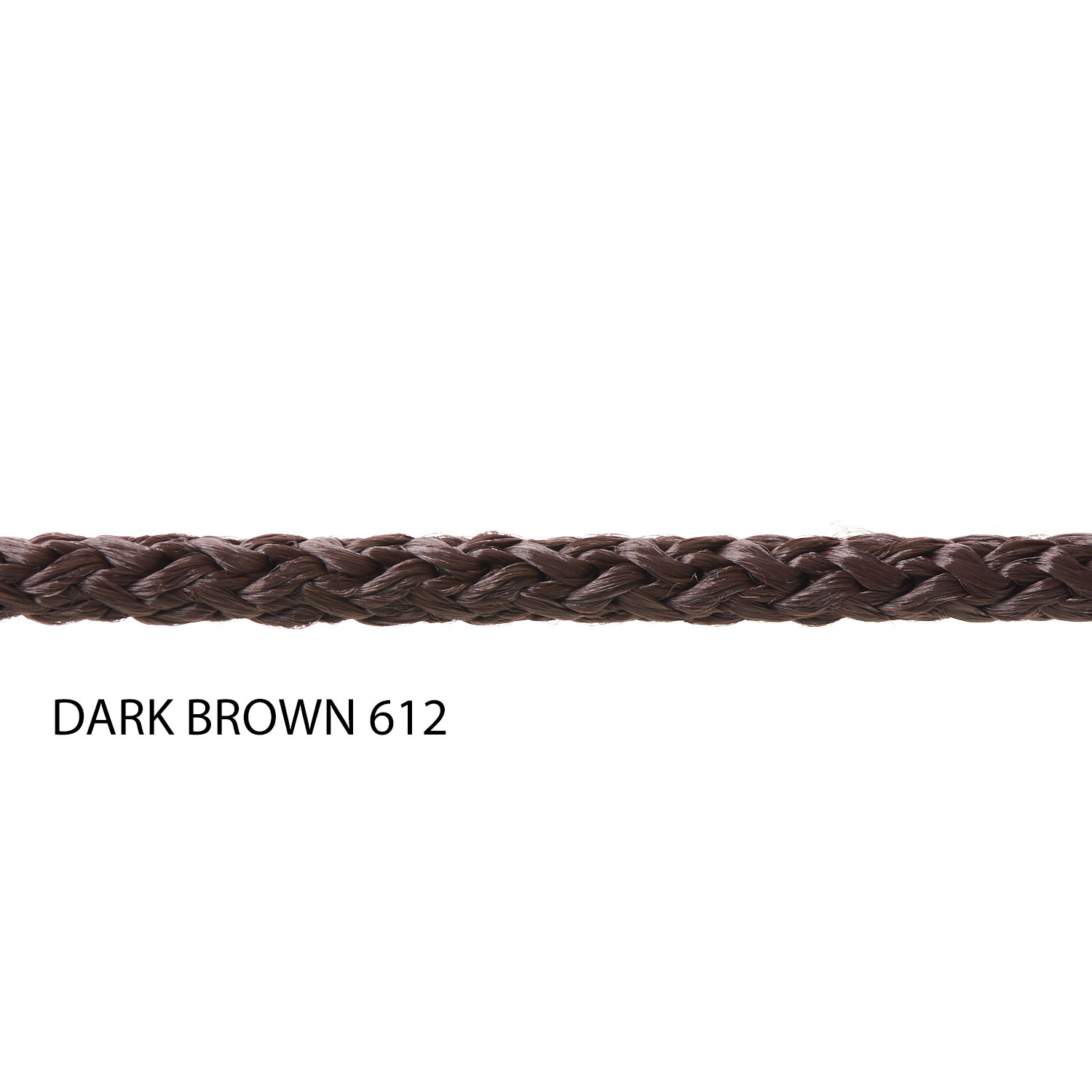 Dark Brown 612 Yarn Colour Polypropylene