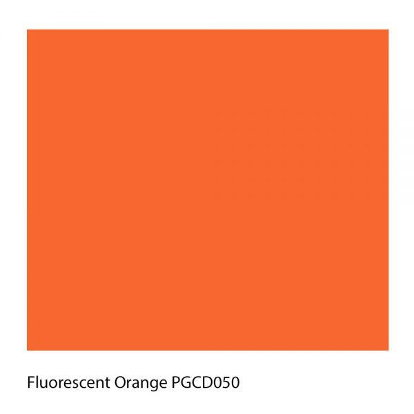 Fluorescent Orange PGCD050 Polyester Yarn Shade Colour