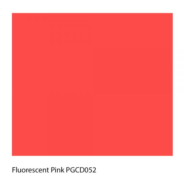 Fluorescent Pink PGCD052 Polyester Yarn Shade Colour