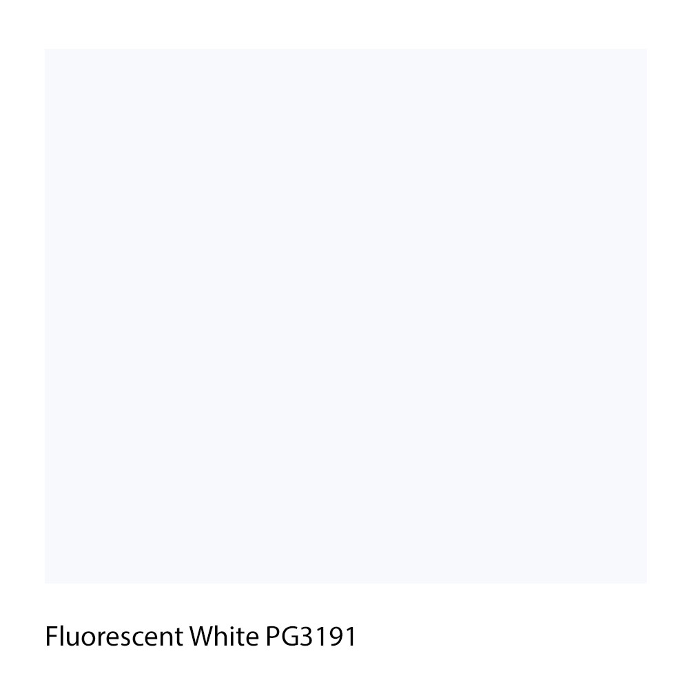 Fluorescent White PG3191 Polyester Yarn Shade Colour