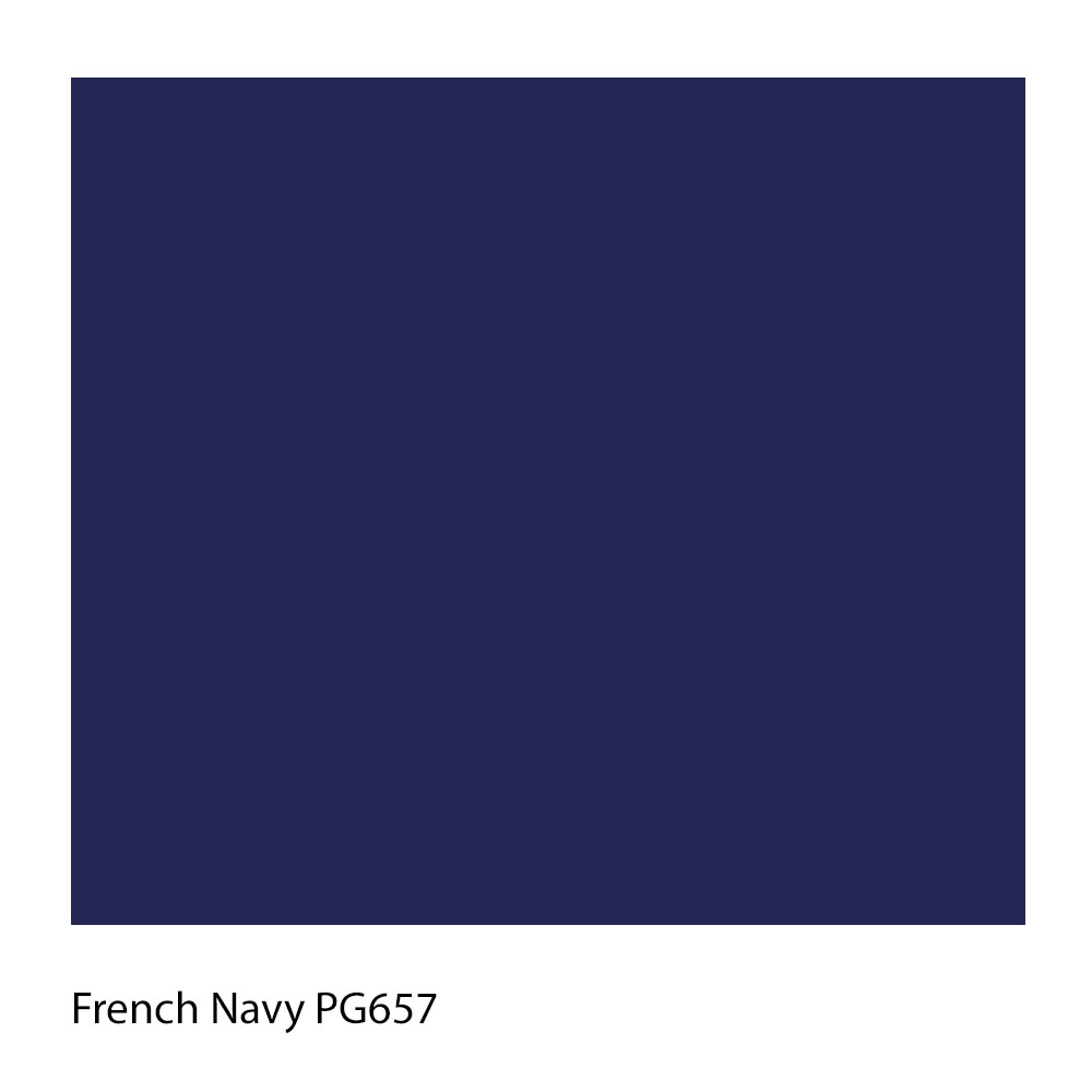 French Navy PG657 Polyester Yarn Shade Colour