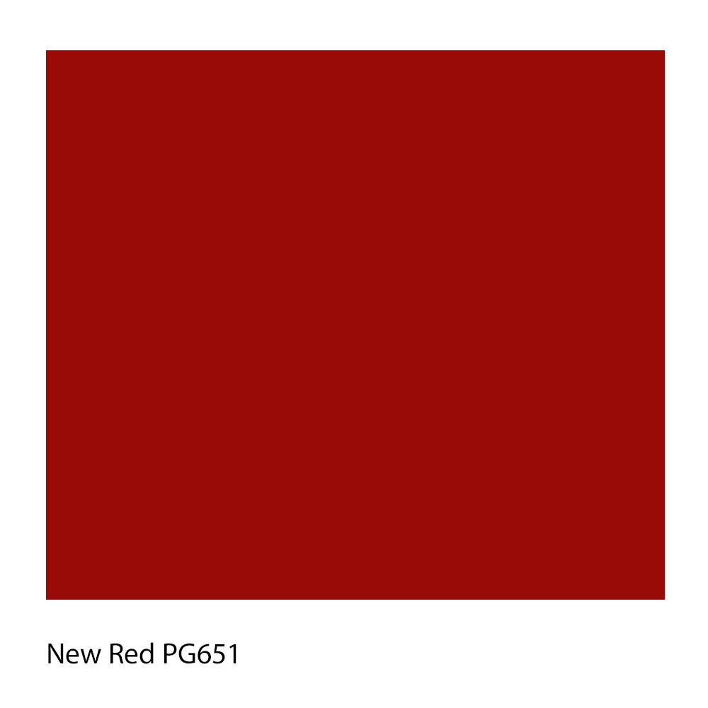 New Red PG651 Polyester Yarn Shade Colour