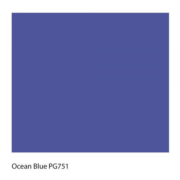Ocean Blue PG751 Polyester Yarn Shade Colour