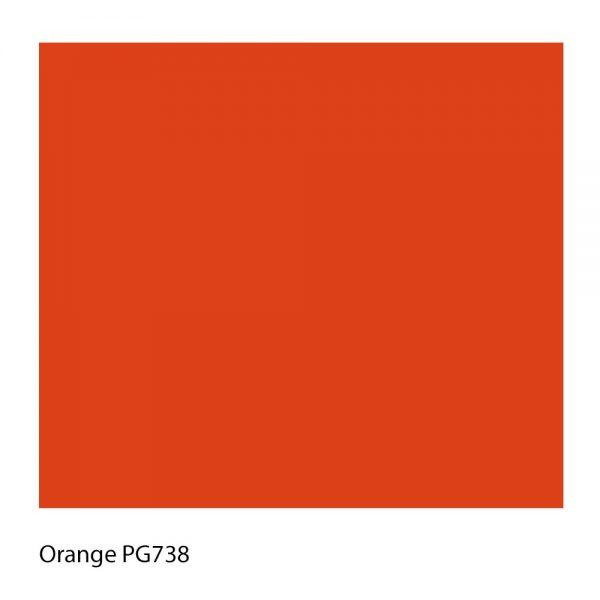 Orange PG738 Polyester Yarn Shade Colour