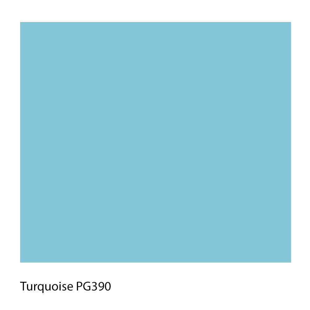 Turquoise PG390 Polyester Yarn Shade Colour