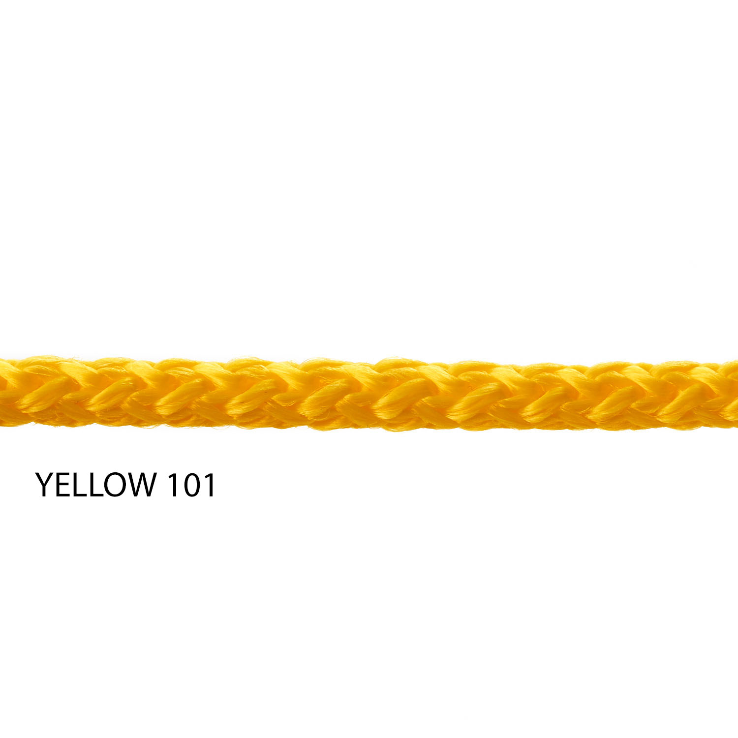 Yellow 101 Yarn Colour Polypropylene