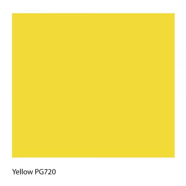 Yellow PG720 Polyester Yarn Shade Colour