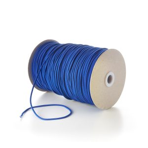 TPE84 2mm Fine Thin Round Elastic Royal Blue