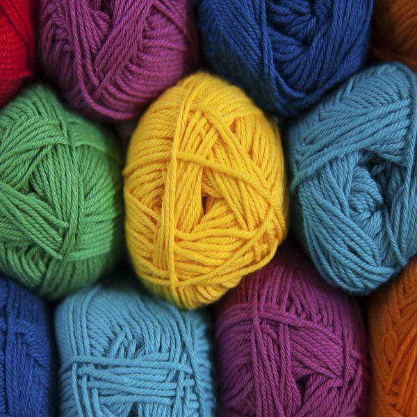 Cotton Shade Card Yarn Colours
