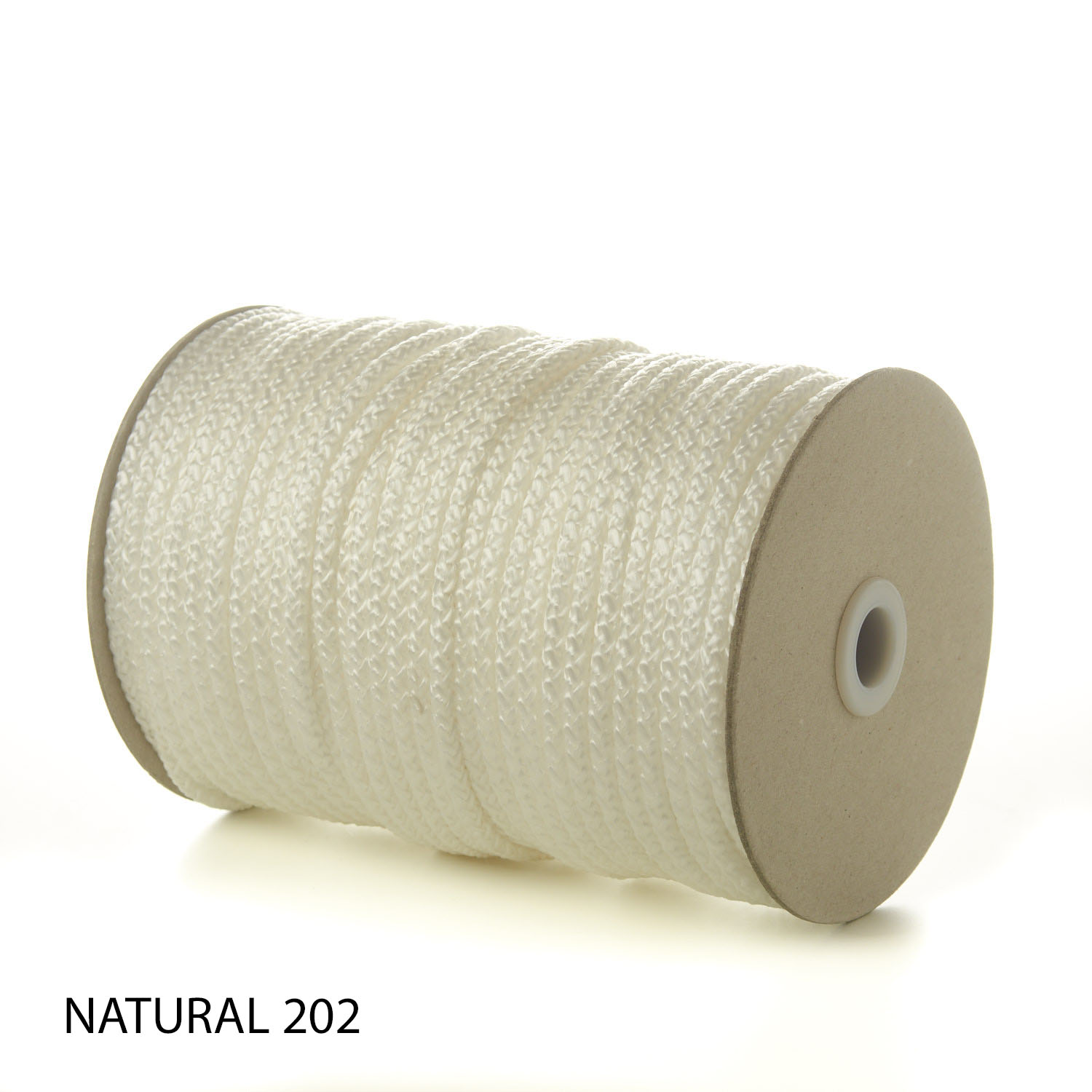 Natural White Polypropylene Knitted Cords Round String Rope Strong