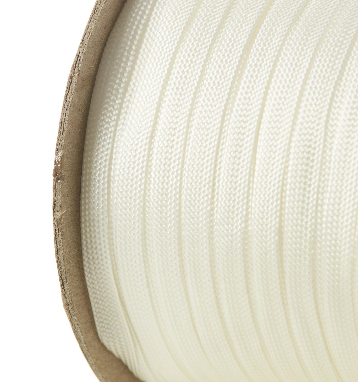 Nylon Braid Flat Trimmings Trim Suture Tape White