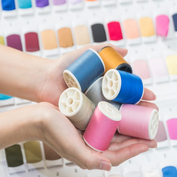 Polyester Shade Card Yarn Colours