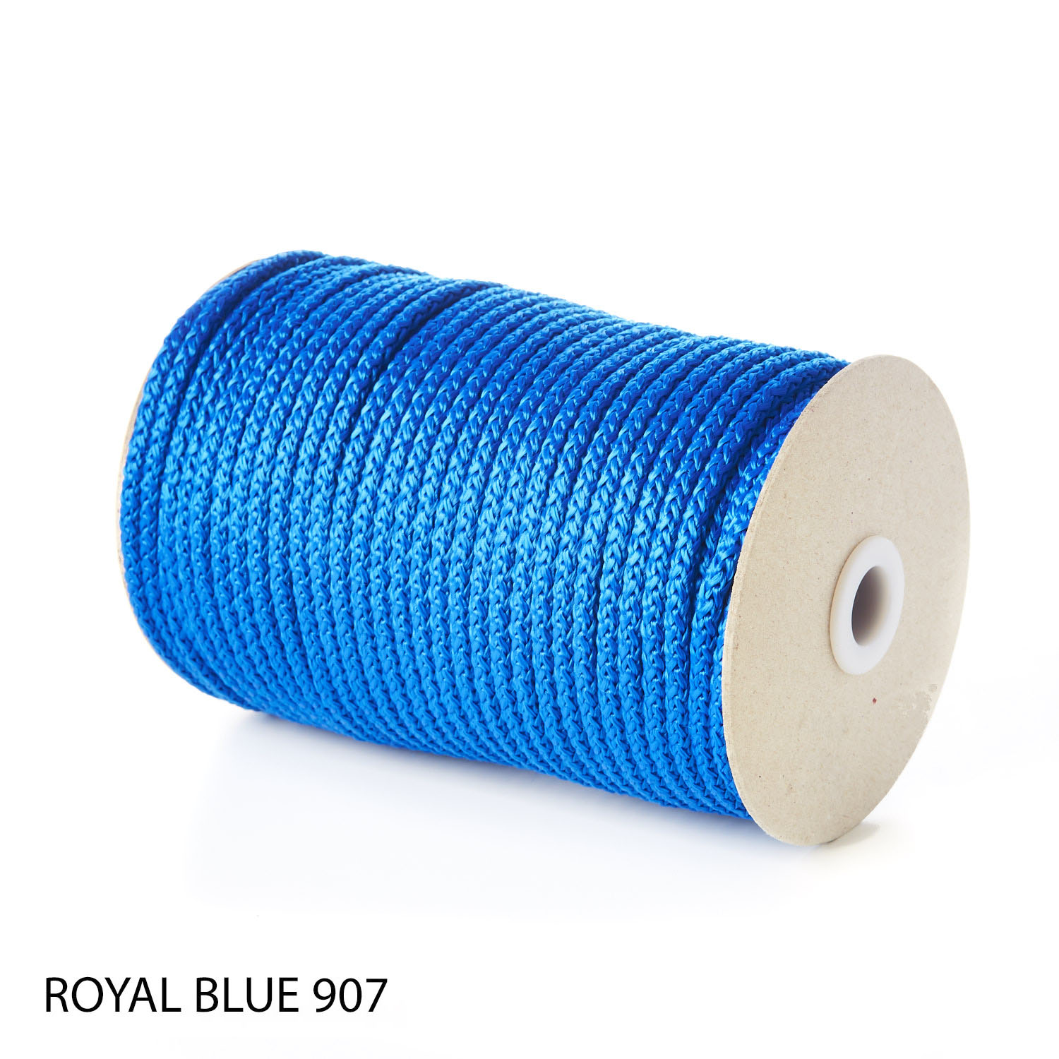 Blue Polypropylene Knitted Cords Round String Rope Strong